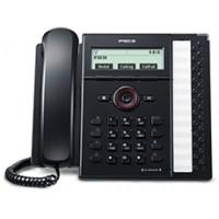 SIP телефон с 4-х строчным графическим ЖК дисплеем (240 x 56) и 12 программируемыми клавишами. (IP8830E.STGBK)