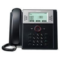 SIP телефон с 9-ти строчным графическим ЖК дисплеем (240 x 144) и 10 программируемыми клавишами (IP8840E.STGBK)