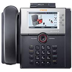 IP телефон с цветным графическим ЖК дисплеем 480 x 272 и 10 программируемыми клавишами (LIP-8050V)