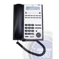 Телефон IP4WW-12TXH-A-TEL (BK) 12 доп. кнопок,2-х строчный дисплей, черный