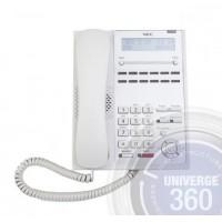 Телефон IP4WW-12TXH-A-TEL (WH) 12 доп. кнопок,2-х строчный дисплей, белый