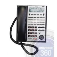Телефон IP IP4WW-24TIXH-C-TEL (BK) 24 доп. кнопки, 3-х строчный дисплей, 2 порта RJ-45, черный