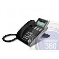 Телефон IP ITL-12D-1P(BK)TEL 12 доп. кнопок, 4-х строчный дисплей 224*96 точек, 2 порта RJ-45, черный