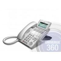 Телефон IP ITL-12D-1P(WH)TEL 12 доп. кнопок, 4-х строчный дисплей 224*96 точек, 2 порта RJ-45, белый