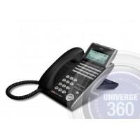 Телефон IP ITL-24D-1P(BK)TEL 24 доп. кнопки, 4-х строчный дисплей 224*96 точек, 2 порта RJ-45, черный
