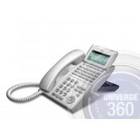 Телефон IP ITL-24D-1P(WH)TEL 24 доп. кнопки, 4-х строчный дисплей 224*96 точек, 2 порта RJ-45, белый