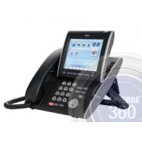 Телефон IP ITL-320C-2P(BK)TEL тачскрин 5,7 дюйма, 65536 цветов, 2 порта RJ-45, черный