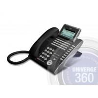 Телефон IP ITL-32D-1P(BK)TEL 32 доп. кнопки, 4-х строчный дисплей 224*96 точек, 2 порта RJ-45, черный