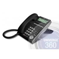 Телефон IP ITL-6DE-1P(BK) 6 доп. кнопок, 3-х строчный дисплей 168*58 точек, 2 порта RJ-45, черный