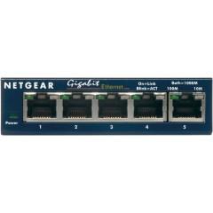 5-портовый 10/100/1000 Мбит/с коммутатор с внешним блоком питания и функциями энергосбережения