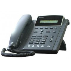 IP телефон AddPac ADD-AP-IP150P (H.323, SIP), 2x10/100 Mbps, PoE, LCD