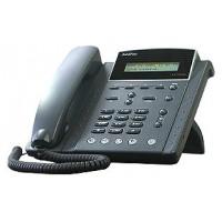 IP телефон AddPac ADD-AP-IP200 (H.323, SIP, MGCP), 1FXO, 2x10/100 Mbps, аудиовход и выход, PoE, IPv4/v6, SpeakerPhone, LCD