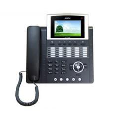 IP телефон AddPac ADD-AP-IP300 (H.323, SIP, MGCP), 2x10/100 Mbps, аудиовход и выход, Ipv4/v6, SpeakerPhone, LCD 4,3