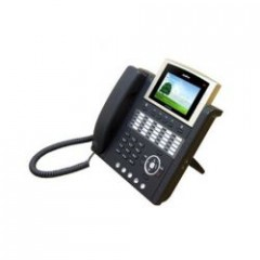 IP телефон AddPac ADD-AP-IP300EP (H.323, SIP, MGCP), 1FXO, 2x10/100 Mbps, аудиовход и выход, PoE, IPv4/v6, SpeakerPhone, LCD 4,3
