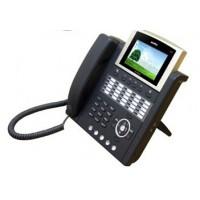 IP телефон AddPac ADD-AP-IP300P (H.323, SIP, MGCP), 2x10/100 Mbps, аудиовход и выход, PoE, IPv4/v6, SpeakerPhone, LCD 4,3'', 25 программируемых клавиш, индикаторы присутствия