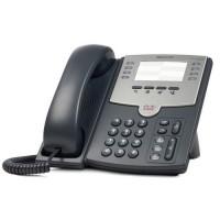 IP телефон SPA501G. 8 линий, 2 x 10/100 Eth, без LCD, PoE.