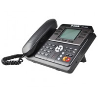 IP-телефон с большим экраном, 2 портами LAN, поддержкой до трех независимых аккаунтов