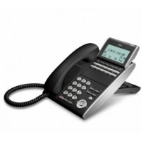 Телефон DTL-12D-1P(BK)TEL 12 доп. кнопок, 4-х строчный дисплей 224*96 точек, черный