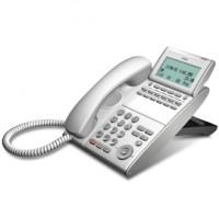 Телефон DTL-12D-1P(WH)TEL 12 доп. кнопок, 4-х строчный дисплей 224*96 точек, белый
