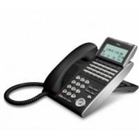 Телефон DTL-24D-1P(BK)TEL 24 доп. кнопки, 4-х строчный дисплей 224*96 точек, черный
