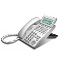 Телефон DTL-24D-1P(WH)TEL 24 доп. кнопки, 4-х строчный дисплей 224*96 точек, белый