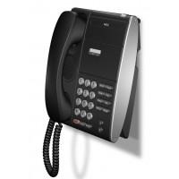 Телефон DTL-2E-1P(BK) 2 доп. кнопки, без дисплея, черный