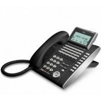 Телефон DTL-32D-1P(BK)TEL 32 доп. кнопки, 4-х строчный дисплей 224*96 точек, черный