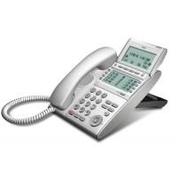 Телефон DTL-8LD-1P(WH)TEL 8 доп. кнопок, 4-х строчный дисплей 224*96 точек, 2 доп. дисплея, белый