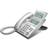 Телефон IP ITL-12D-1P(WH)TEL 12 дополнительных кнопок, 4-х строчный дисплей 224*96 точек, 2 порта RJ-45, белый
