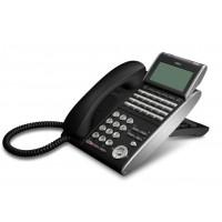 Телефон IP ITL-24D-1P(BK)TEL 24 дополнительные кнопки, 4-х строчный дисплей 224*96 точек, 2 порта RJ-45, черный