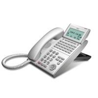 Телефон IP ITL-24D-1P(WH)TEL 24 дополнительные кнопки, 4-х строчный дисплей 224*96 точек, 2 порта RJ-45, белый