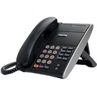 Телефон IP ITL-2E-1P(BK) 2 дополнительные кнопки, без дисплея, 2 порта RJ-45, черный