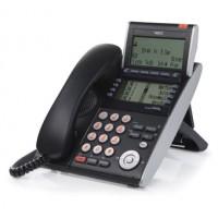 Телефон IP ITL-8LD-1P(BK)TEL 8 дополнительных кнопок, 4-х строчный дисплей 224*96 точек, 2 дополнительных дисплея, 2 порта RJ-45, черный