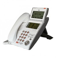 Телефон IP ITL-8LD-1P(WH)TEL 8 дополнительных кнопок, 4-х строчный дисплей 224*96 точек, 2 дополнительных дисплея, 2 порта RJ-45, белый