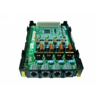 4-портовая плата аналоговых внешних линий (LCOT4) KX-TDA3180X