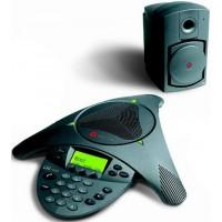 Аналоговый конференц-телефон SoundStation VTX 1000 с дисплеем и возможностью подключения выносных микрофонов