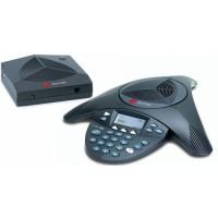 Аналоговый конференц-телефон SoundStation2W с дисплеем без возможности подключения выносных микрофонов