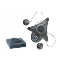 Аналоговый конференц-телефон SoundStation2W с дисплеем и возможностью подключения выносных микрофонов
