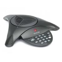 Аналоговый конференц-телефон SoundStation2 без дисплея и без возможности подключения выносных микрофонов
